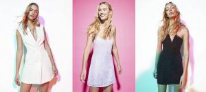 Modelos de vestidos de fiesta baratos de Bershka