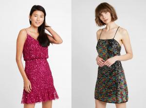 Modelos de vestidos de fiesta cortos de Zalando