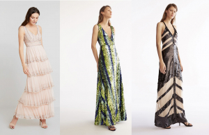 Modelos de vestidos de fiesta para bodas de Zalando y Uterqüe