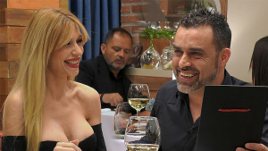 Mónica y Valentín en 'First Dates'