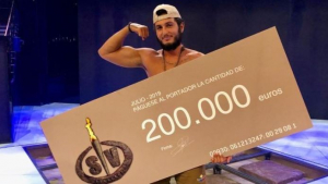 Omar Montes, ganador del cheque de 200.000€ de 'Supervivientes'
