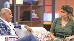 Kiko Matamoros y Sandra Barneda en 'Viva la vida'