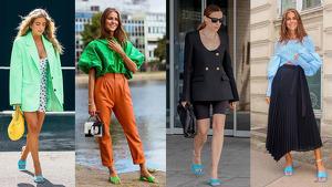 Las 'it girls' se rinden a los nuevos mules de colores de Zara