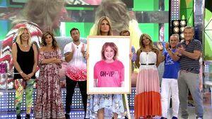 Los compañeros de 'Sálvame' apoyan a Mila Ximénez