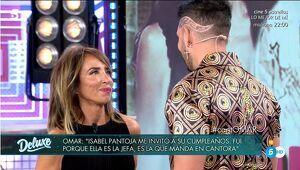 María Patiño y Omar Montes en 'Sábado Deluxe'