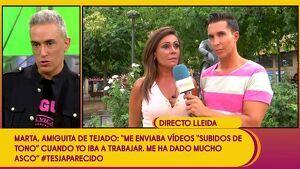 Marta estalla contra Antonio Tejado