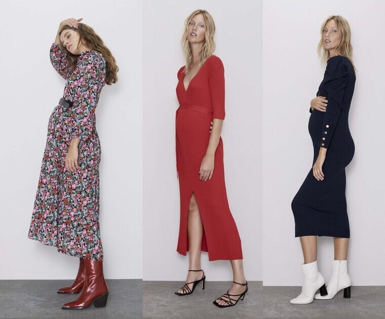 gran selección de 5e007 f74ad Las famosas se rinden a los nuevos diseños de Zara Premamá