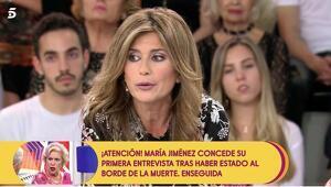 Imagen de Gema López en 'Sálvame'