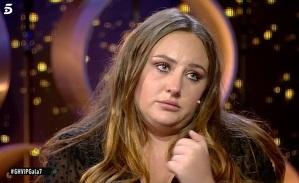 Rocío Flores acabó llorando