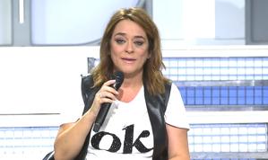 Toñi Moreno daba comienzo 'MYHYV' rota de dolor