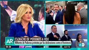 Cristina Cifuentes en 'El Programa de Ana Rosa'