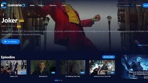 Pel·lícules d'estrena a la pàgina principal de Cuevana3
