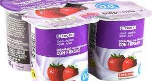 Yogures marca Eroski