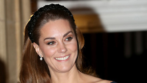 Kate Middleton con una diadema de Zara en el concierto en el Royal Albert Hall de Londres