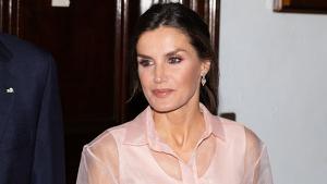 La reina Letizia en la cena de gala de devolución en Cuba