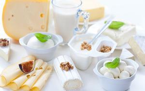 Imagen de surtido de productos lácteos