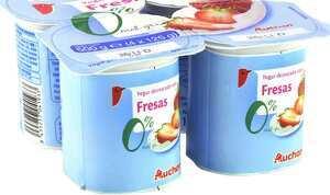 Paquete de yogures Alcampo 0%