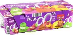 Paquete de yogures de frutas de Dia