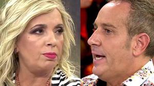 Víctor Sandoval y Carmen Borrego habrían tenido varias discusiones grabando 'Ven a cenar conmigo'