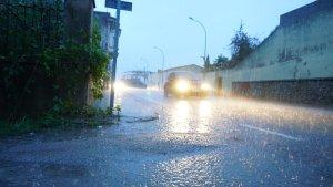 Más lluvias fuertes en muchos puntos del litoral e interior andaluz este sábado