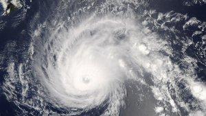 El huracán Walaka alcanzó la categoría 5 en el Pacífico este octubre pasado