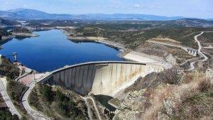 El pantano del Atazar, que es el de mayor capacidad de toda la cuenca de aguas de Madrid