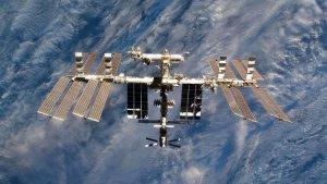 Fotografía de la Estación Espacial Internacional
