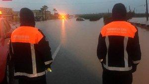 Unas 50 incidencias esta mañana de domingo en Huelva