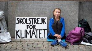Greta Thunberg ha conmovido la sociedad con su claro discurso