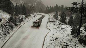 60 quitanieves están operativas en las carreteras de Navarra por la predicción de nevadas superiores a los 10 cm este miércoles