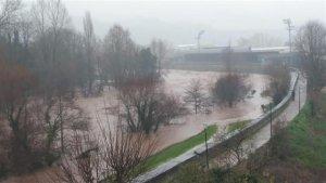 Los ríos cántabros se han desbordado en 60 municipios estos 3 días de temporal