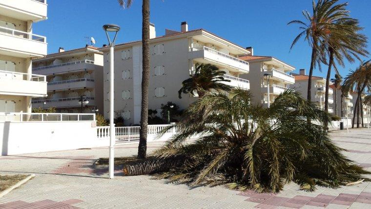 El viento continuará soplando muy fuerte en las regiones cantábricas, atlánticas y en puntos del litoral mediterráneo el martes