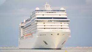 Imagen de una nave crucero parecido al del incidente