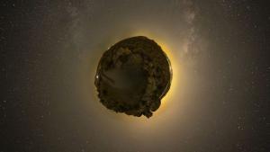 Un asteroide que fue descubierto este marzo viajará muy cerca de la Tierra, a 306.000 km, este viernes