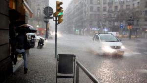 Las lluvias pueden ser importantes en el norte este lunes