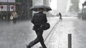 Llegan las primeras lluvias intensas este miércoles