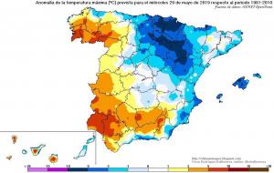 Aunque las temperaturas remontan, el miércoles seguirá más fresco de lo normal en la mayor parte del país