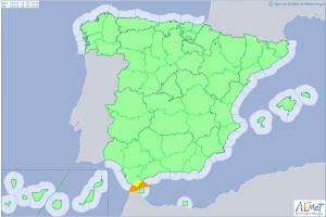El intenso viento de Levante complicará mucho la situación marítima en el Estrecho de Gibraltar