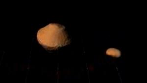 Imagen del extraño asteroide con satélite orbitando, que pasará cerca la Tierra este fin de semana