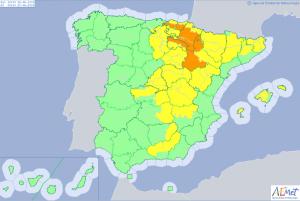 20 provincias en alerta por el excepcional calor, hasta 39ºC en Navarra y Zaragoza este miércoles