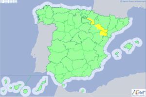 Alerta por calor muy intenso en las comunidades del valle del Ebro