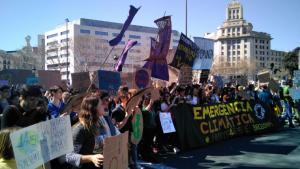 En marzo pasado hubo en Barcelona y Madrid las primeras manifestaciones multitudinarias contra el Cambio Climático
