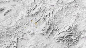 Localización de los temblores percibidos en Murcia esta noche de sábado a domingo