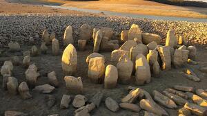 Imagen del conjunto megalítico
