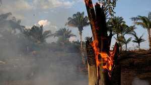 Los fuegos en la Amazonia están provocando tanta indignación popular que llegan a crear bulos para dramatizar la situación