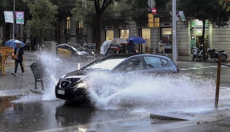 Presenta una semana con tiempo lluvioso y fresco, más típico de otoño que de verano