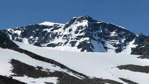 El monte Kebnekaise