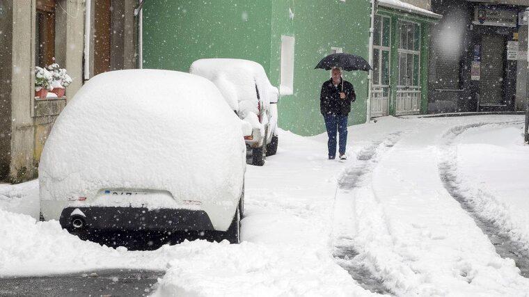 El temporal de frío polar de la semana pasada ha dejado grosores de más de un metro en las montañas cantábricas