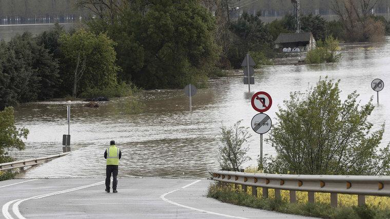 El temporal ha dejado en riesgo los ríos de los valles del norte del país, con posibilidad de desbordamientos