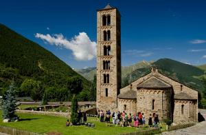 Sant Climent de Taüll, a la Vall de Boí